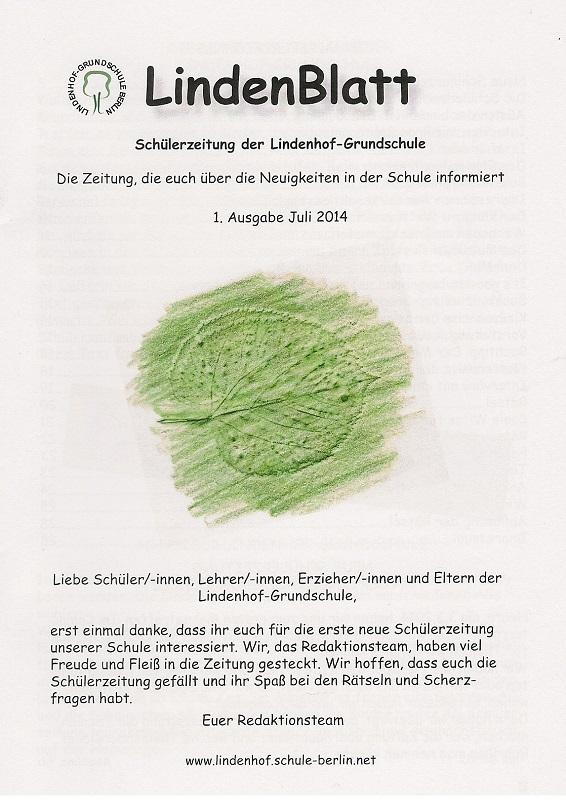 Lindenblatt